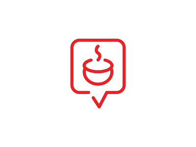 Food app logo by tridib das dribbble this logo is for a social food app wherein the user can connect with fellow food enthusiasts and share their food recipes and even cook together forumfinder Gallery