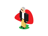 Isometric Stan Lee