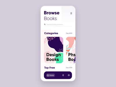 Library app abstract logo pineapple pink red purple blue abstract design abstract icon 2d ux ui typography minimal design clean branding app