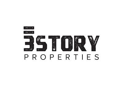 3 Story Properties Logo branding design logo