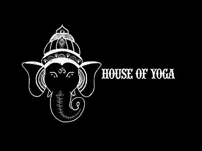 House of Yoga Logo design branding logo