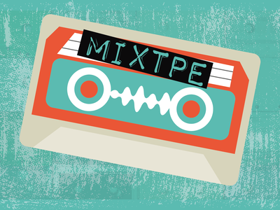 Mixtpe Branding brand naming illustration designer graphic designer branding logo design