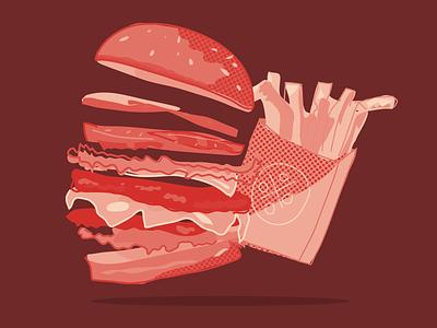 Grab a juicy bite. vectors food vector illustration vector art cheese burger covid19 fastfood foodies food and drink illustrator vector drawing vector cheeseburger food drawing foodie food illustration