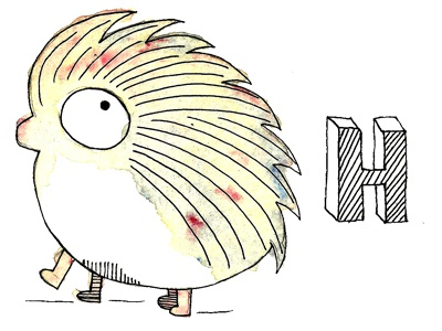 H hedgehog