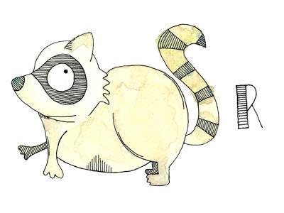 R raccoon