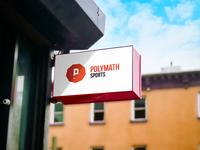 Polymath Sports Logo Design