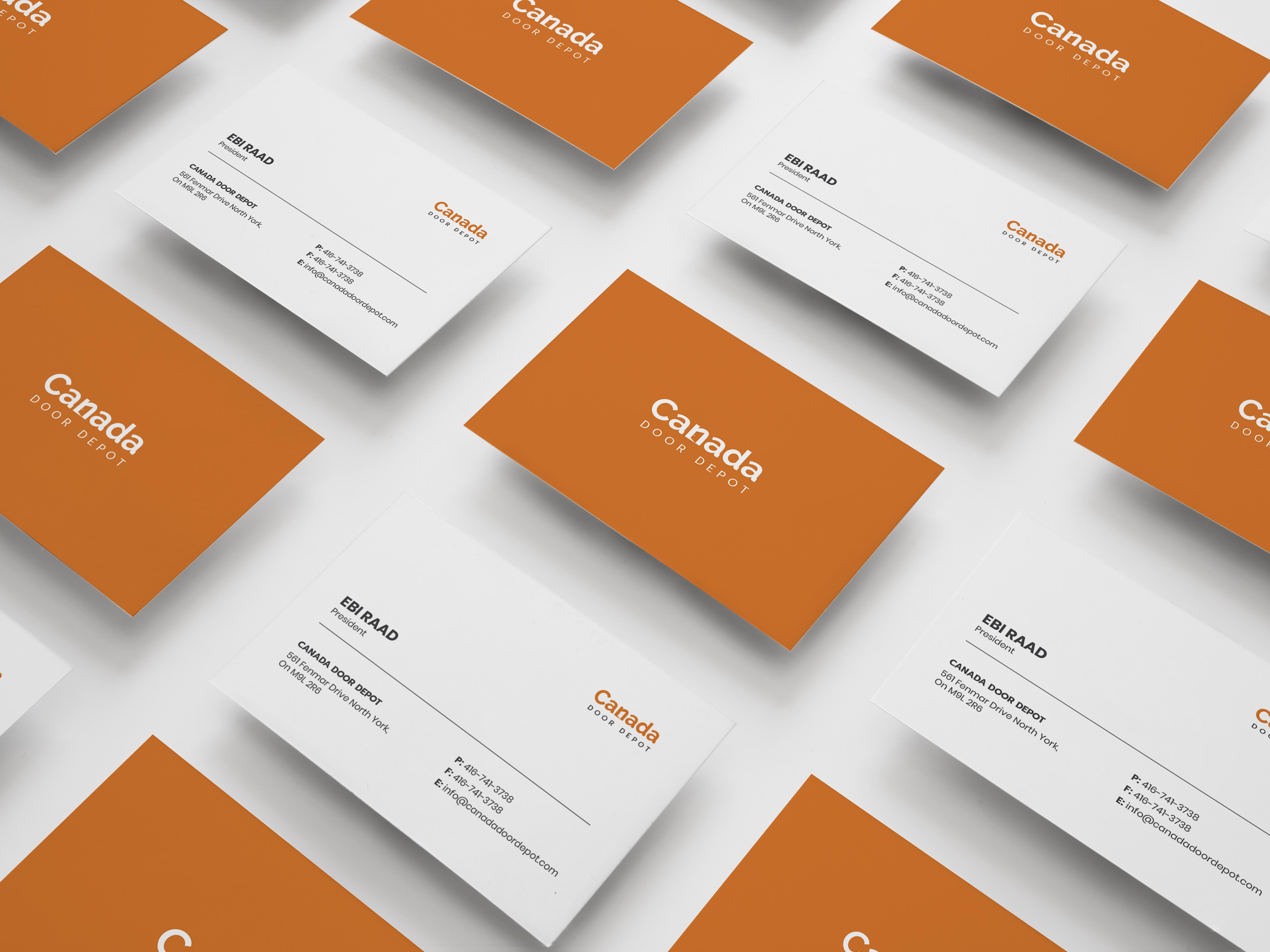 Canada Door Depot | Business Card Design