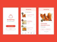 dumpling - early UI