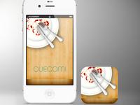QueComi icon/splash screen design