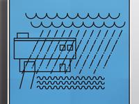 El lluvio poster