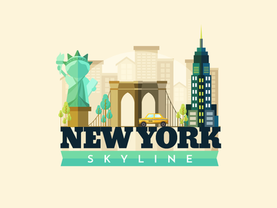 New York Skyline for Freepik