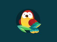 A cute Macaw for Freepik