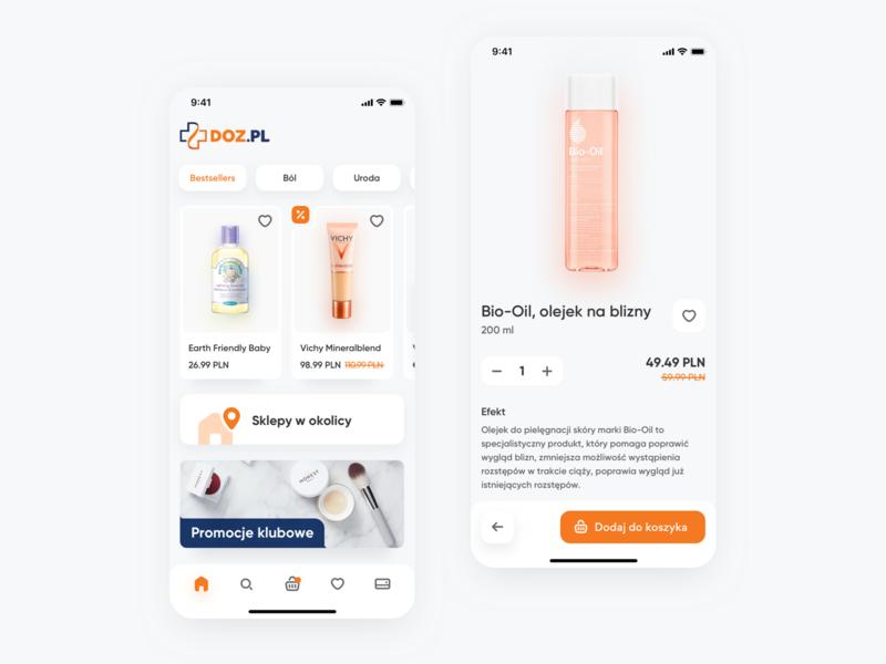 💊 Drugstore E-commerce Mobile App mobile app mobile ui mobile store app store shop drugstore e commerce ecommerce ui design ui