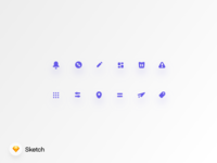 Rounded Icon Set Vol.2
