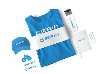 Deputy Swag Kit v1 merchandise design merchandise merch marketing swag branding logo design
