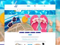 Blue JackTar Hotel & Golf  Website Proposal