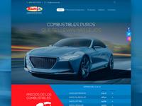 Sunix Gas Station Website Proposal