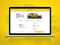 Renault Web App