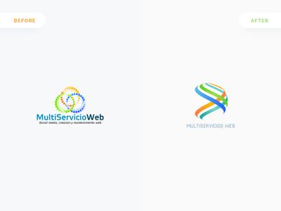 Multiservicio Web, Logo Redesign