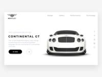 BENTLEY Website Concept