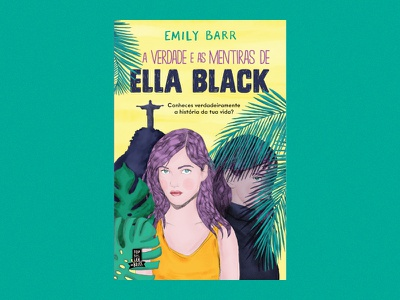 The Truth and Lies of Ella Black young adult illustration watercolour painting digital brazil rio cover book freitas ninai