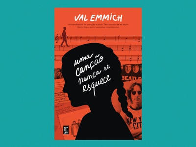 The Reminders by Val Emmich lettering cover book visual lennon music love friends beatles memory fiction