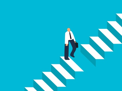 The Leader Gap II cover book freitas ninai ui illustration stairs gap leadership