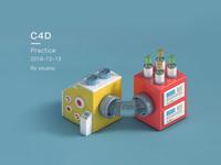 C4D渲染练习