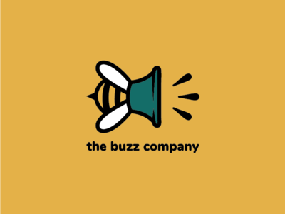 The Buzz Company Logo Design