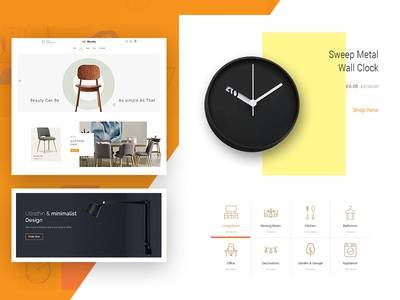 Woody - Homepage, Product and Featured Categories