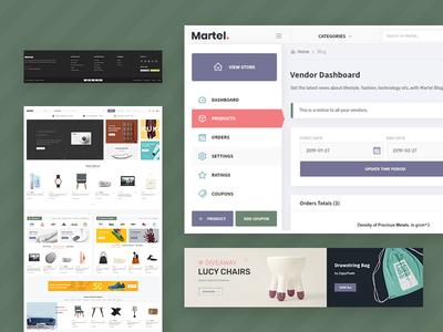 Martel - Multi Vendor Marketplace WordPress Theme