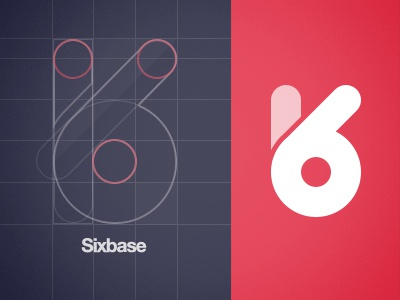 Sixbase Logo logo process grid sixbase