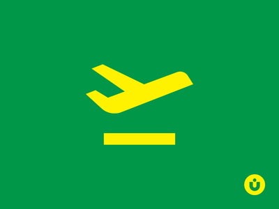 Buckle Your Seatbelts minimal iconography ui kit departure airplane icons