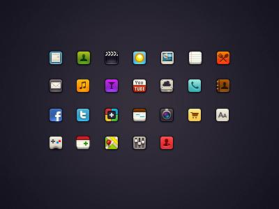 Mini iOS Icons