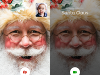 Talking Santa - available on the app store