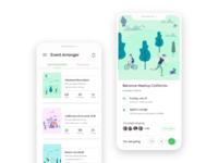 Event Schedule App Concept