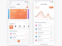 Wallet App UI Concept
