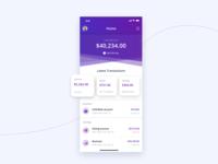 Finance App Interface
