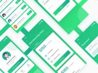 Medical checkup app concept