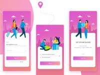 Travel App Login Process