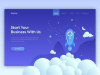 Startup Business Hero image