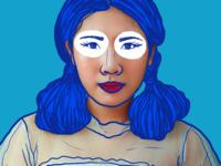 I'm blue.