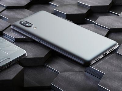 Sharp   Mobile C10   CGI keyshot mobile sharp studio lighting coronarender 3d max 3d