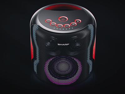 Sharp   PS-919 3d art products 3d max 3d scropin cgi