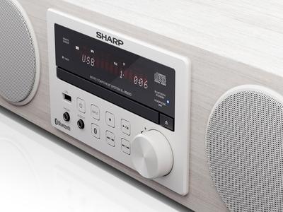 Sharp | Hi-Fi Audio System BB20D | CGI