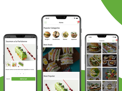 Restaurant App Theme shopping mobile app design firebase android ecommerce app template mobile template mobile app development mobile templates
