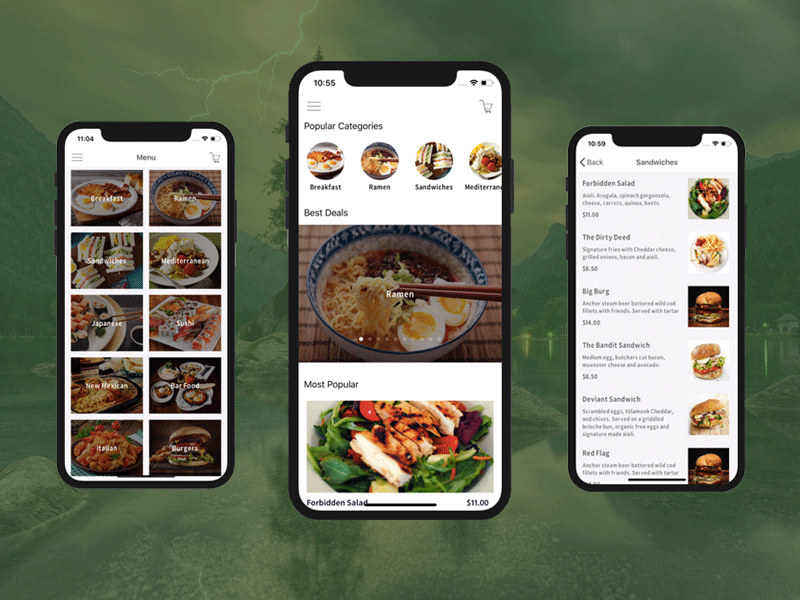 restaurant app template for ios and android by ios app templates