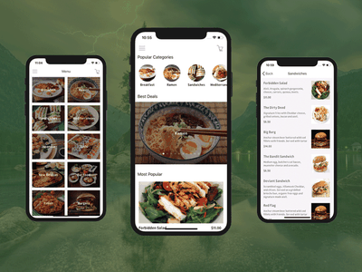 Restaurant App Template for iOS and Android restaurant-app android ios app template restaurant