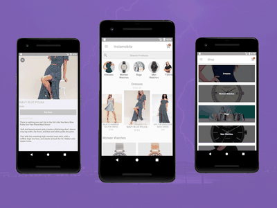 Android Ecommerce App Template - Kotlin material design android design kotlin mobile templates shopping android ecommerce