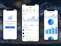 Admin Dashboard iOS App Template